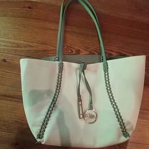 BCBG Leather reversible tote!!!
